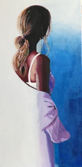 Udsyn by Helle Dalsgaard | maleri