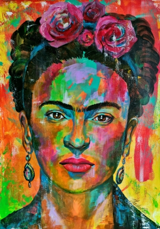 Frida by Christina Chee | maleri