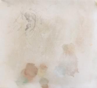 Uden titel by Sofie Plys Løssl Haxthausen | maleri