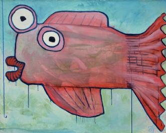 Glat som en ål by Anders Schrøder | maleri