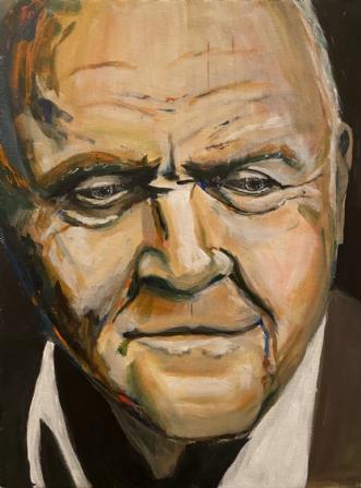 Hannibal vs Hopkins by Jesper Martin Jensen | maleri