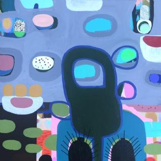 Isolation by Hanne Charlotte Rosenmeier | maleri