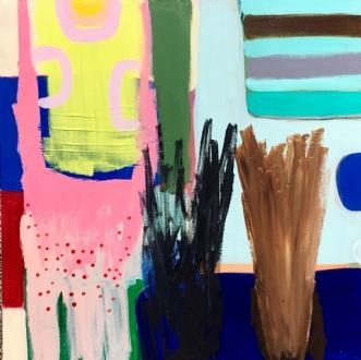 Følsomme kvinder by Hanne Charlotte Rosenmeier | maleri