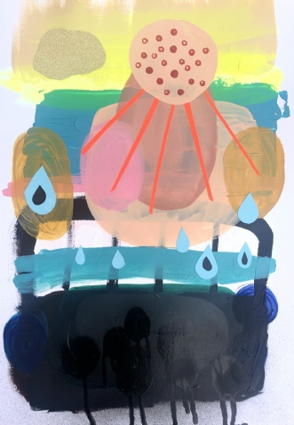 Black day by Hanne Charlotte Rosenmeier | tegning