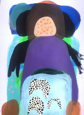 Midt om natten by Hanne Charlotte Rosenmeier | tegning