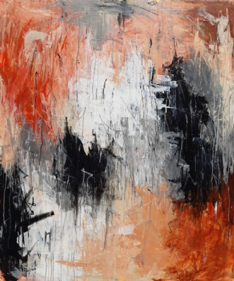 La vie en rose by Anne Kragh-Pedersen | maleri