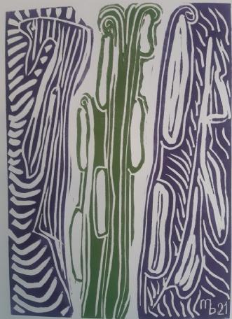 Det spired fra den .. by Martin Bruggisser | tegning