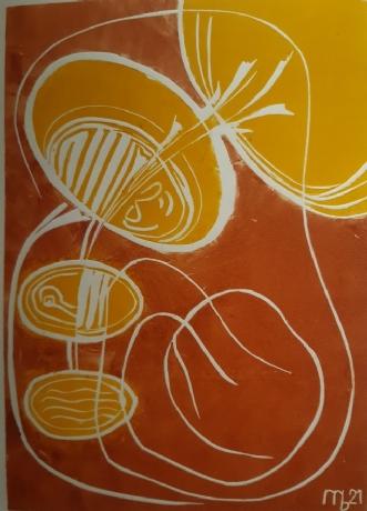 Nu får solen gule u.. by Martin Bruggisser | tegning