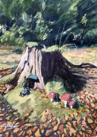 Det, der findes i Skovbunden..afHenrik Elbrønd