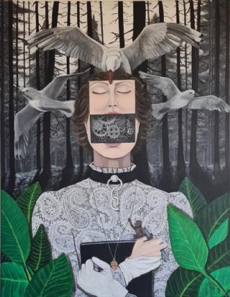 Oriri by Julie Busch | maleri