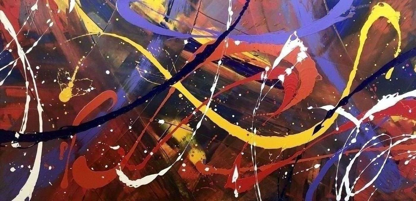 'Melange' by Michael Lomholt | maleri