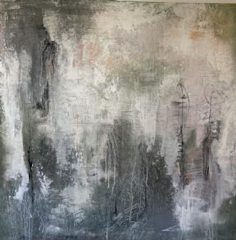 behind by Helene Lerche | maleri