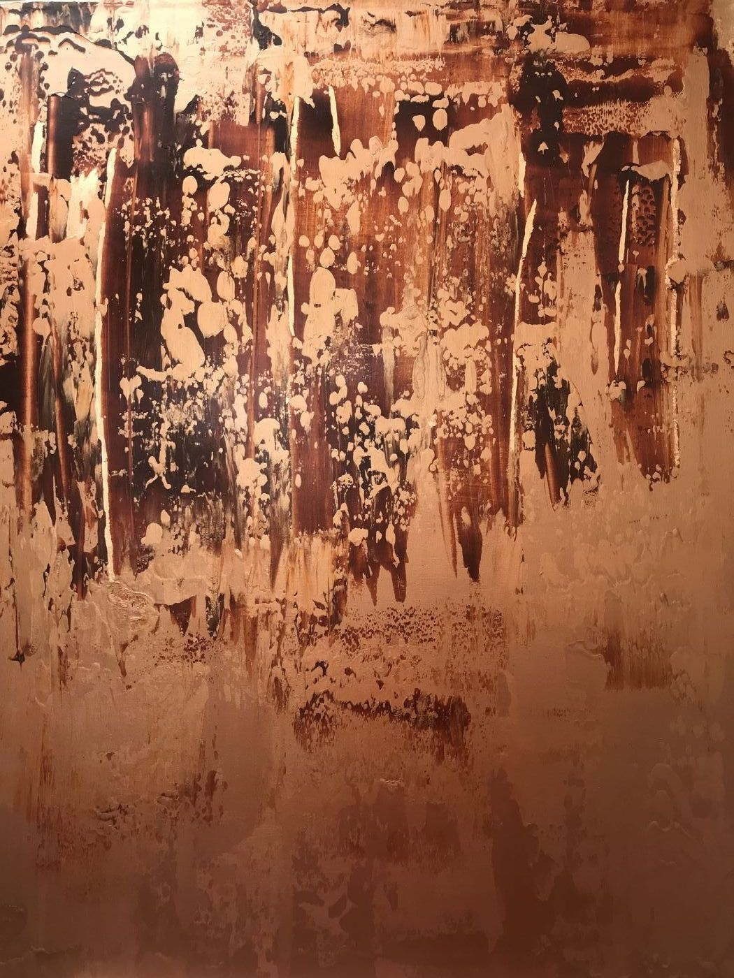 Kobber by Xenia Nordblom | maleri