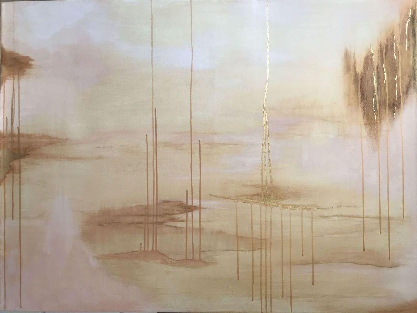 Vanilla sky by Xenia Nordblom | maleri