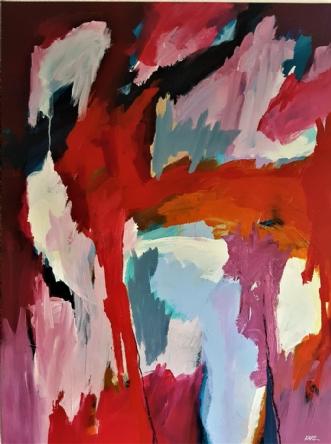 48-19 by Karl Hedeager Madsen | maleri