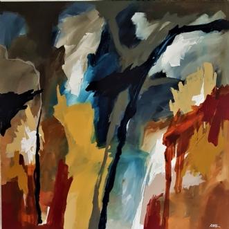 38-20 by Karl Hedeager Madsen | maleri