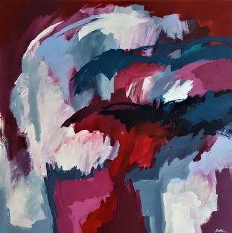 44-18 by Karl Hedeager Madsen | maleri