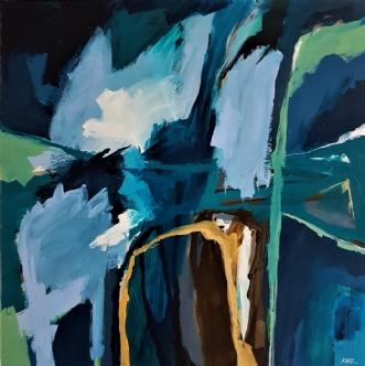 34-18 by Karl Hedeager Madsen | maleri