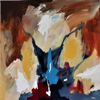 23-21 by Karl Hedeager Madsen | maleri