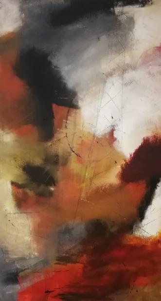 Lys forude by Anitta Jonas | maleri