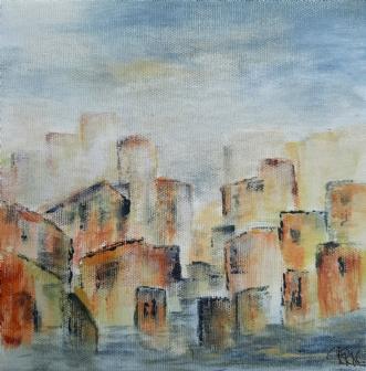Uden titel by Ruth Rise Nielsen | maleri