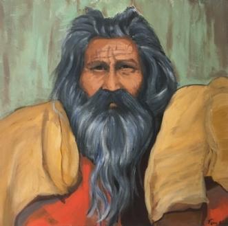 Metusalem by Tina Börm | maleri