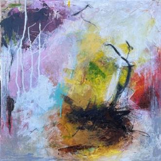 Cherry blossom no 2 by Lone Bonde Haupt | maleri