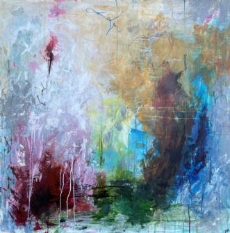 Clearing by Lone Bonde Haupt | maleri
